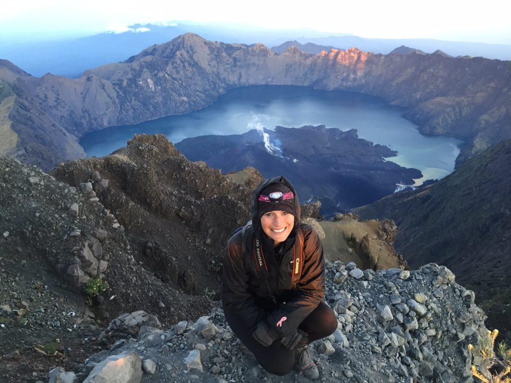rinjani-crater