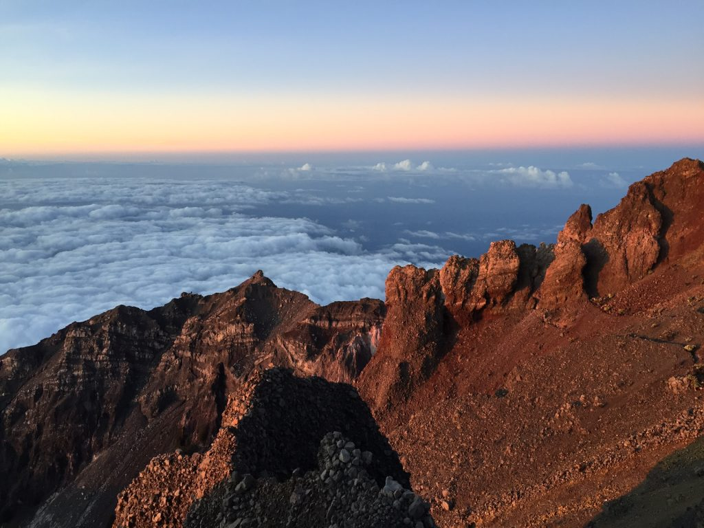 rinjani-summit