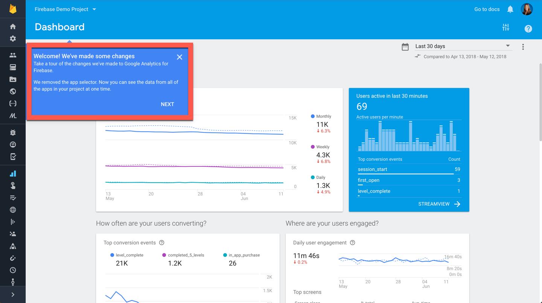 Digital Debrief – What's New in Google Analytics for Firebase